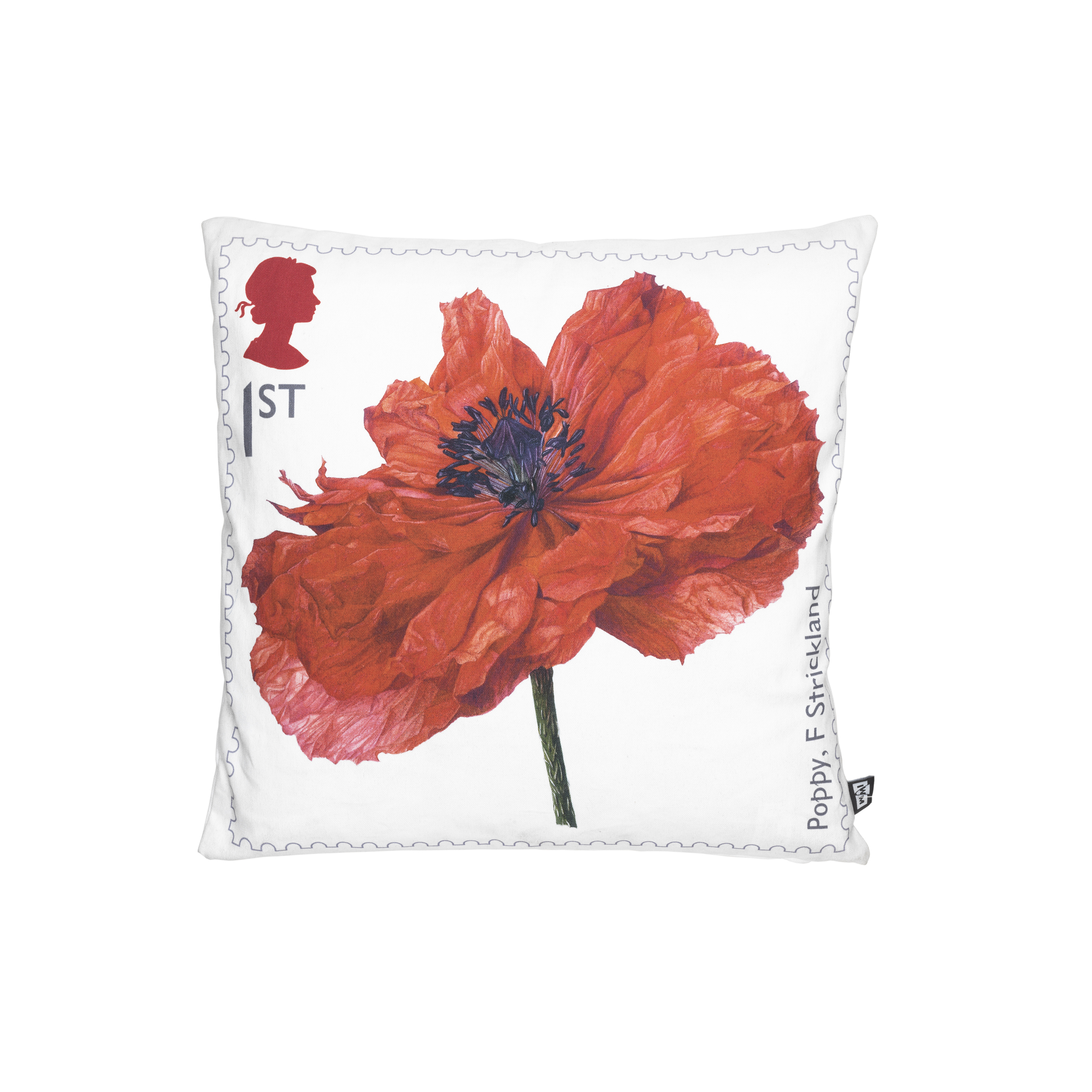 Royal Mail Poppy stamp cushion, £30, www.iwmshop.org.uk
