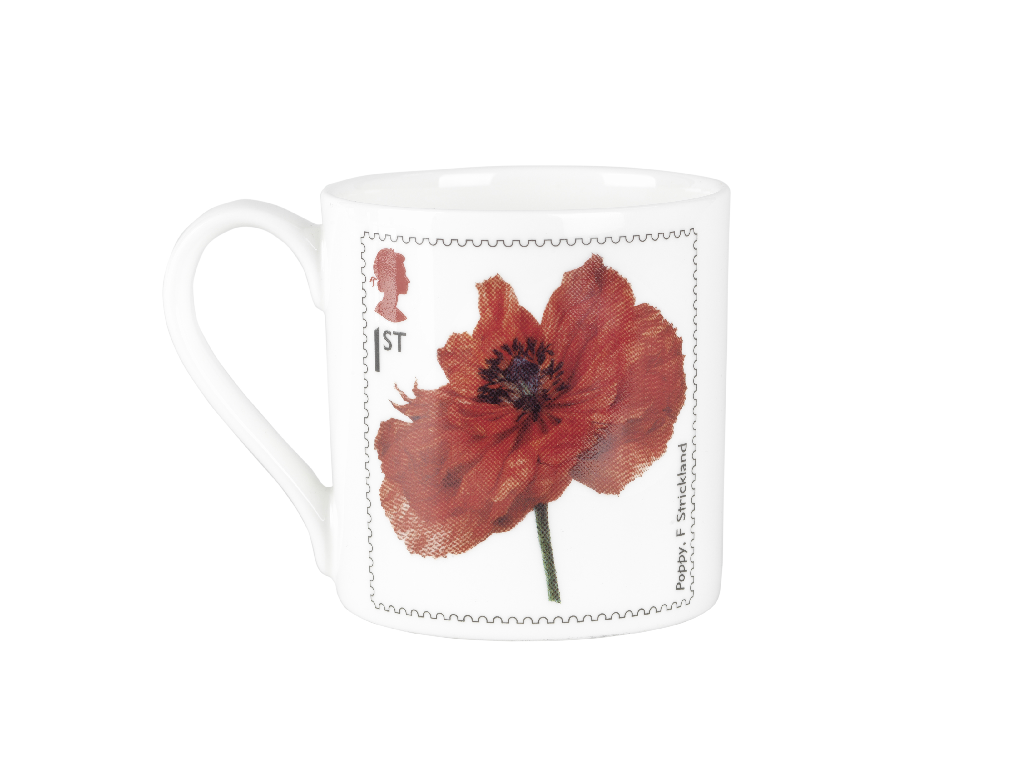 Royal Mail Poppy stamp mug, £8, www.iwmshop.org.uk