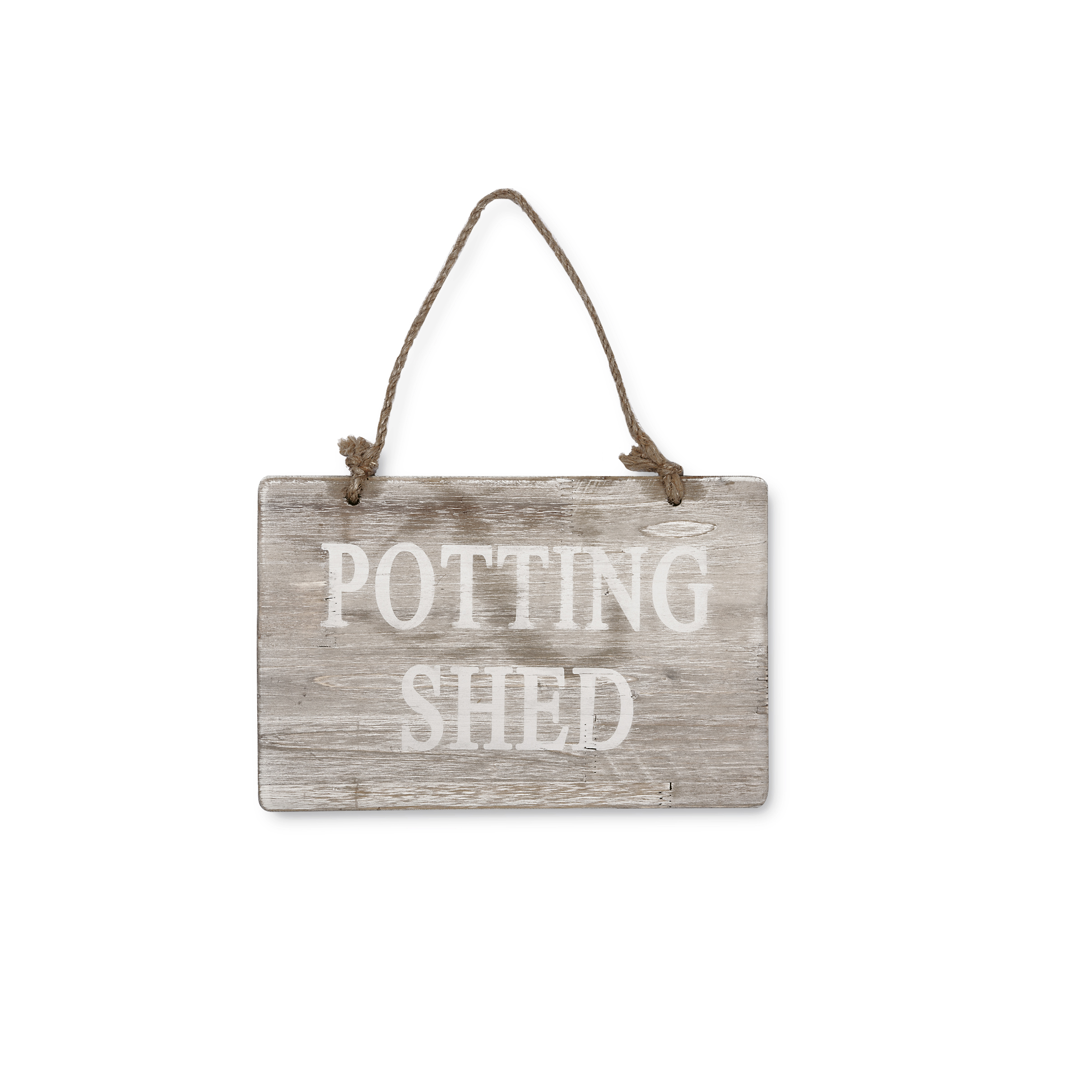 potting shed sign £12.00 www.shop.bl.uk