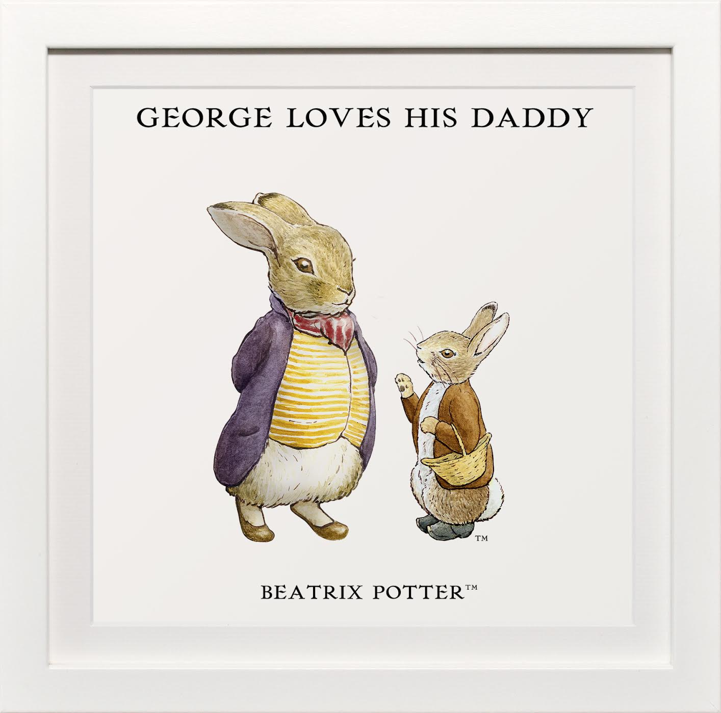 Loves His Daddy 2 £25.00 www.artyougrewupwith.com
