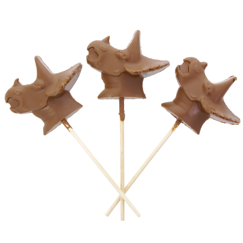 Chocolate Triceratops lolly, £2, www.nhmshop.co.uk