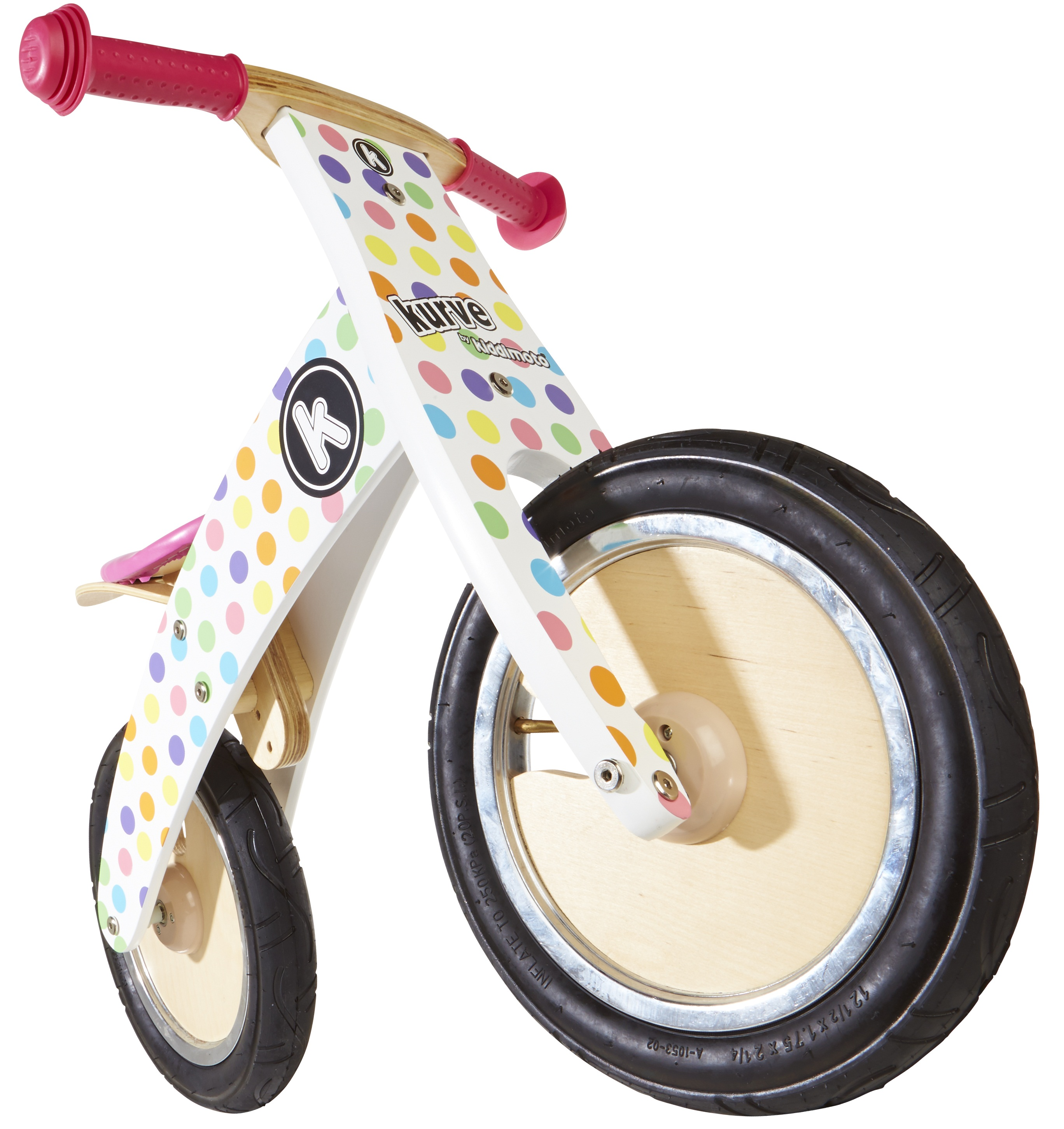 Kurve Pastel Dotty, £64.99 www.kiddimoto.co.uk