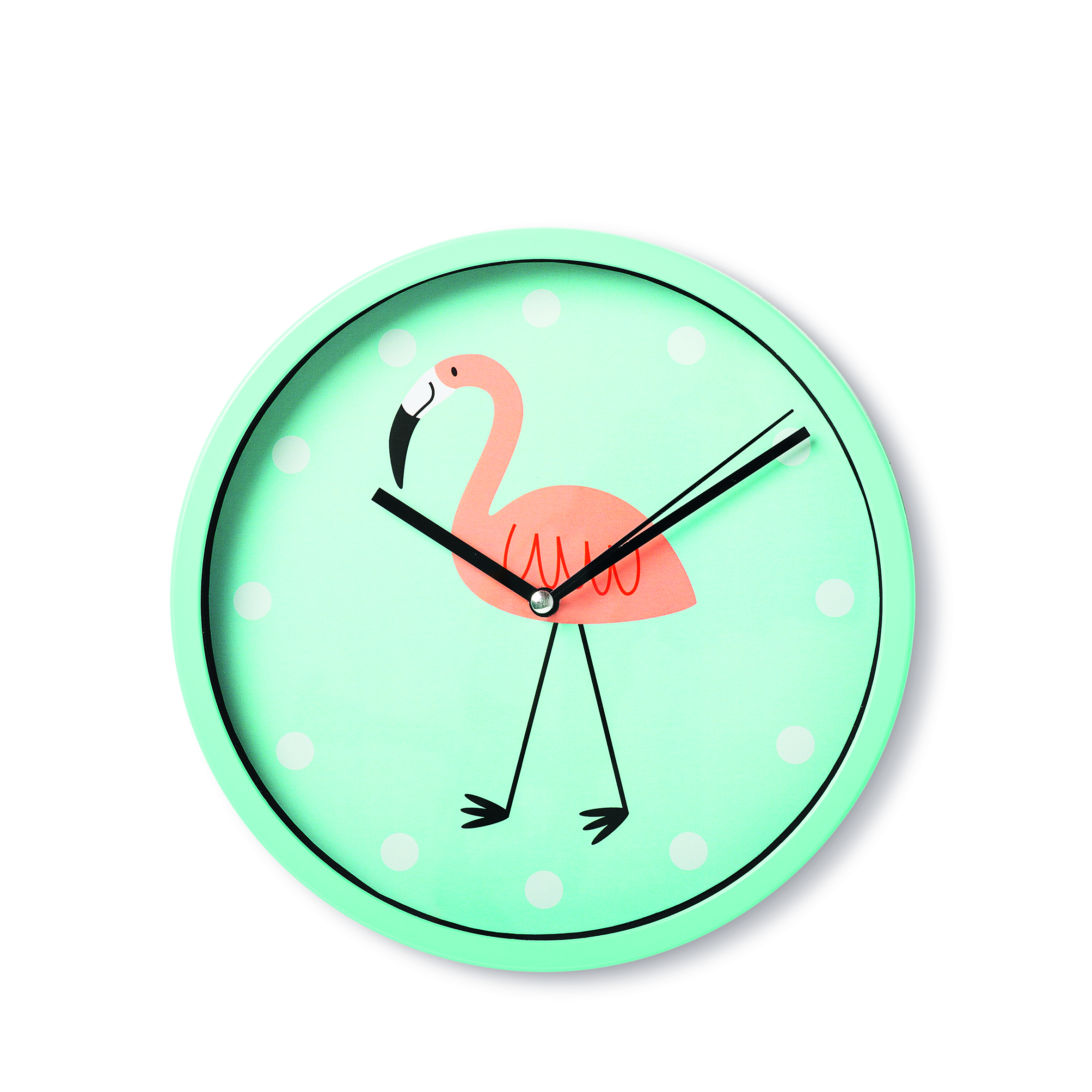 Flamingo wall clock, £5 from Tiger 1003602_03