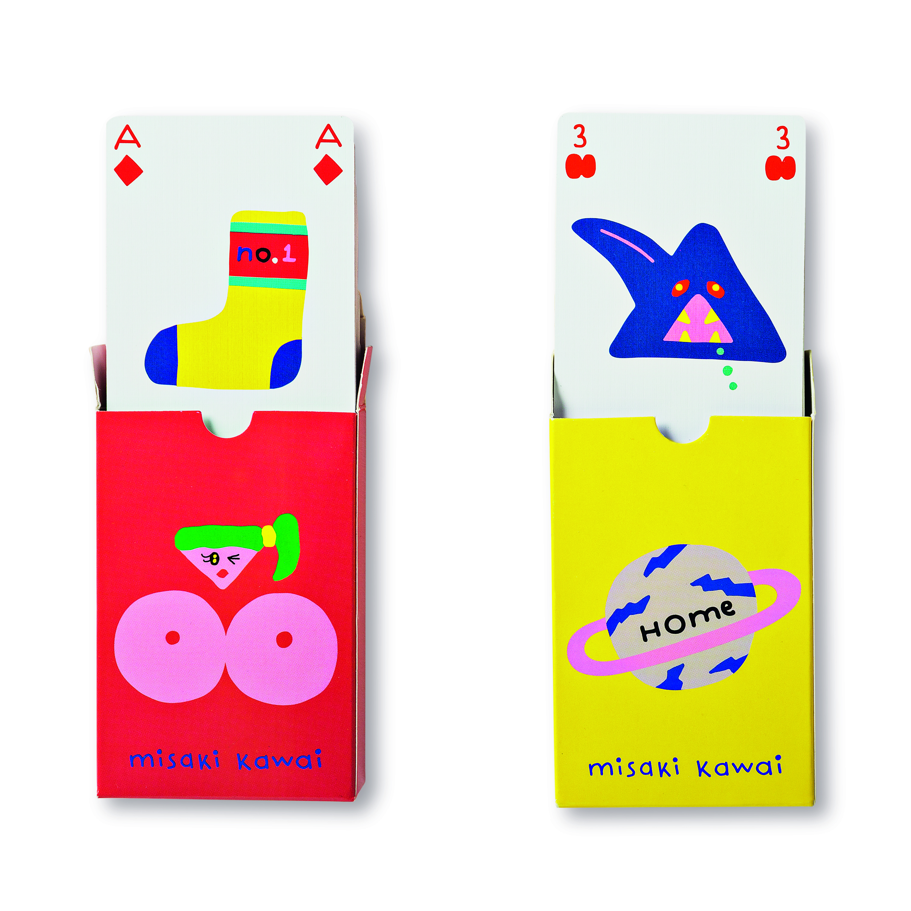 Pack of Playing Cards £2 Misaki Kawai TIGER 2300248