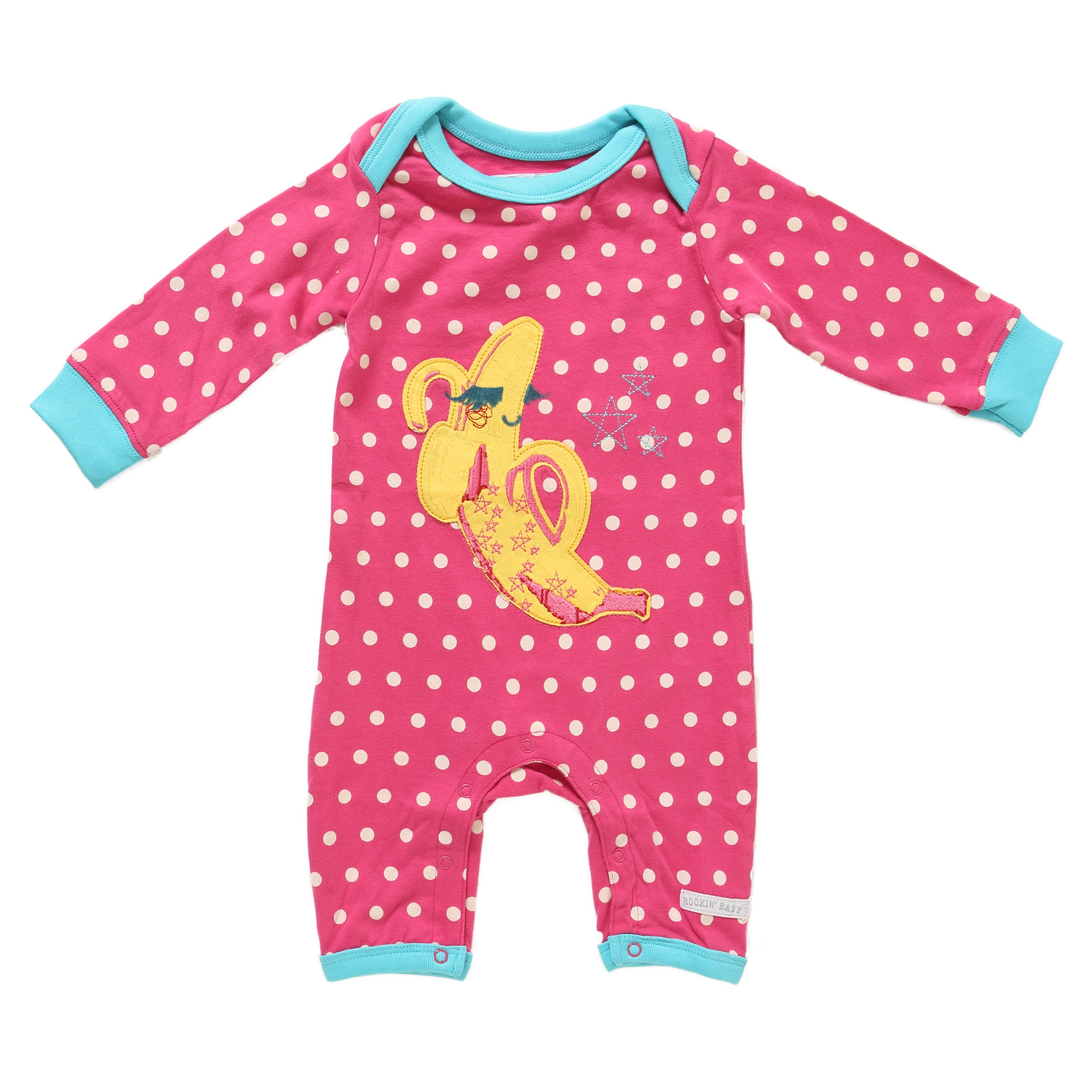 RB0176-BET-F.jpeg Applique Babblin ROmper www.rockinbaby.com