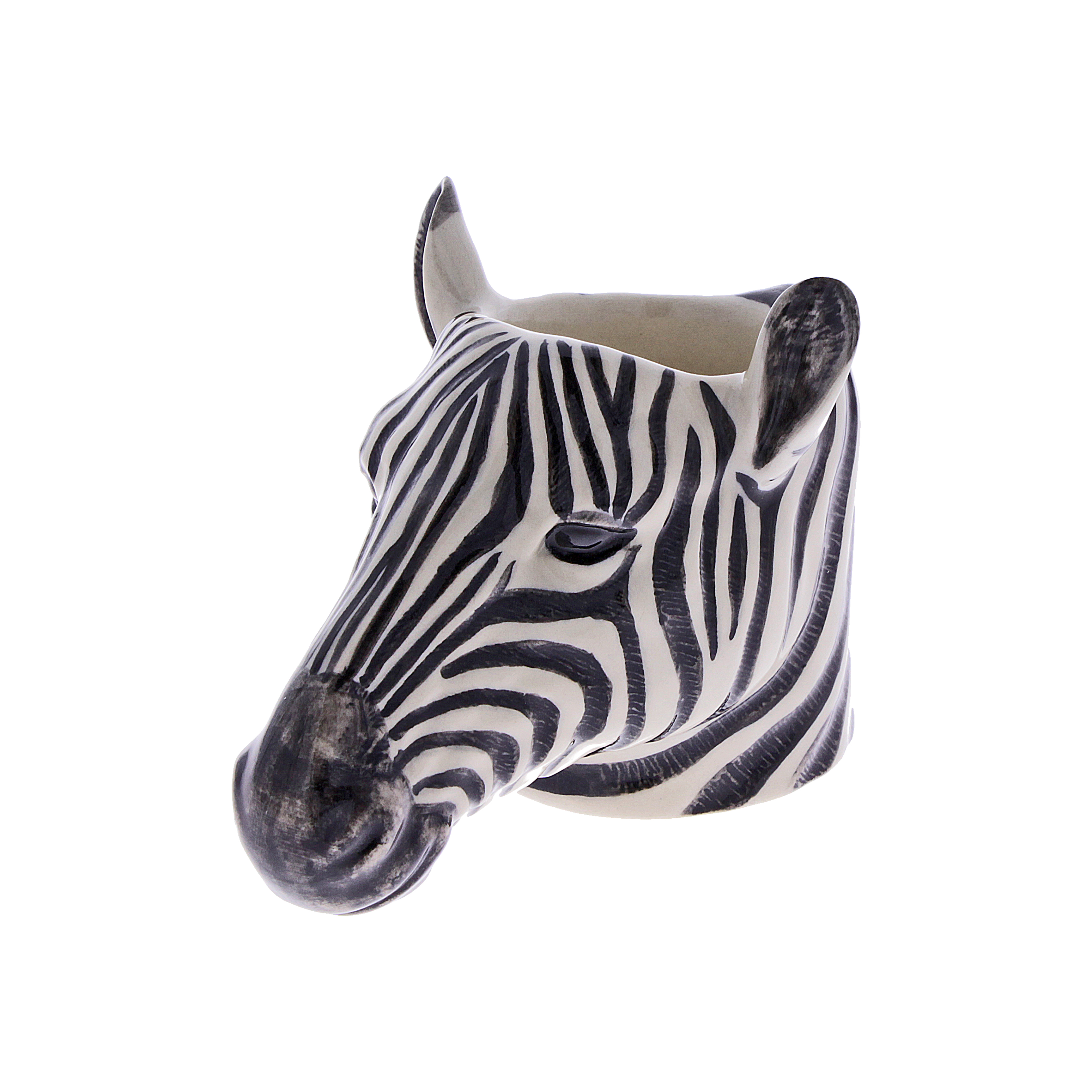 Zebra Face Egg Cup £12.00 www.nhmshop.co.uk